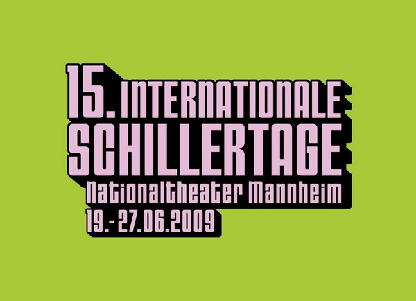 15. Internationale Schillertage am Nationaltheater Mannheim